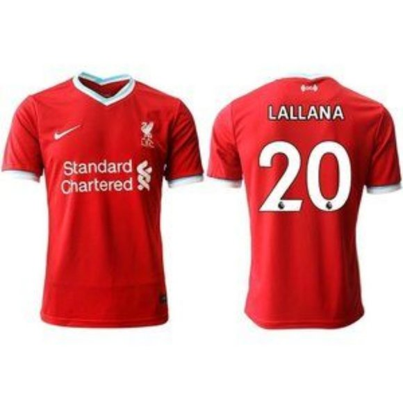 Liverpool Adam Lallana 2020-21 Red Jersey